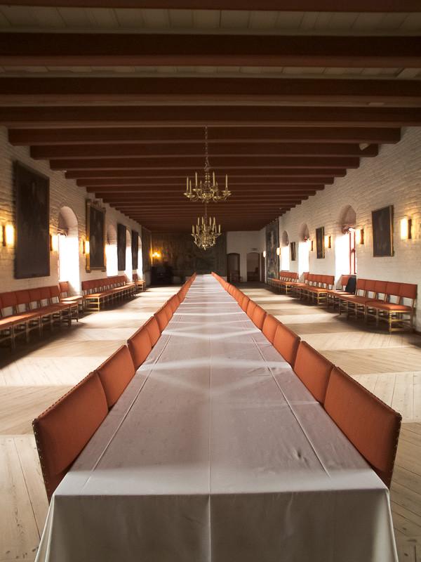 Romikesaal in der Festung Akershus