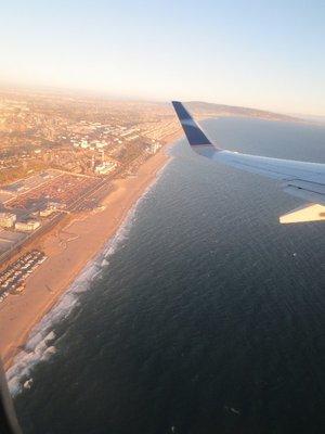 Plane view of LA