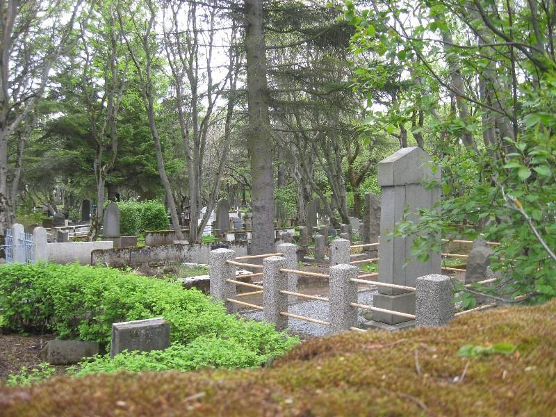 Graveyard in Reykjavik.