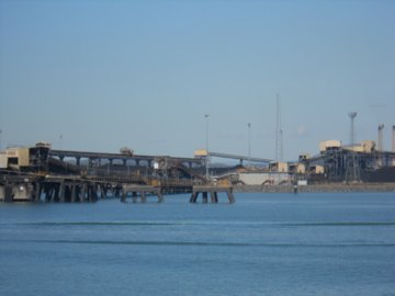 Gladstone Harbour, southern end of Barrier Reef