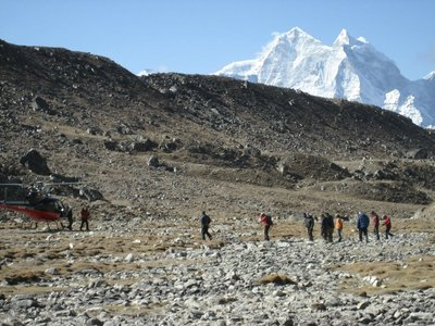 Trekking in Himalayan