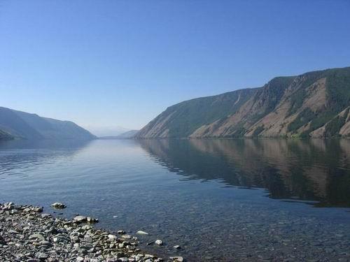 Kara-Hol lake in Tuva