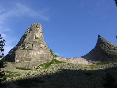 Parabola mountain
