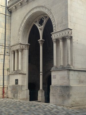 Cool Gothic Doorway - Place de la Revolution