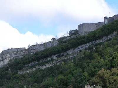 Citadel from below - early in the hike!