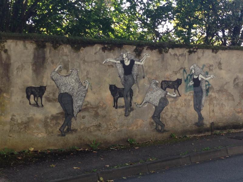 Art on Rue Fontaine-Ecu