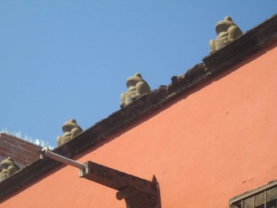 San Miguel roof frogs 2