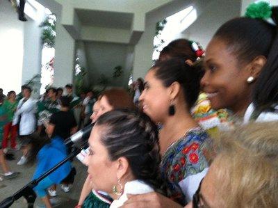 idep day Dahlia, Natalie and Perla
