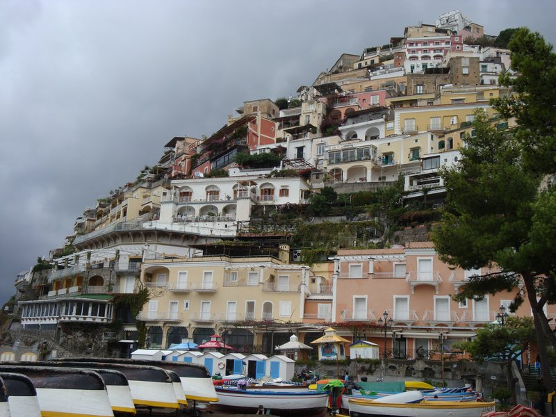 Amalfi hillside