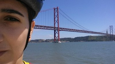 Cycling around Lisbon