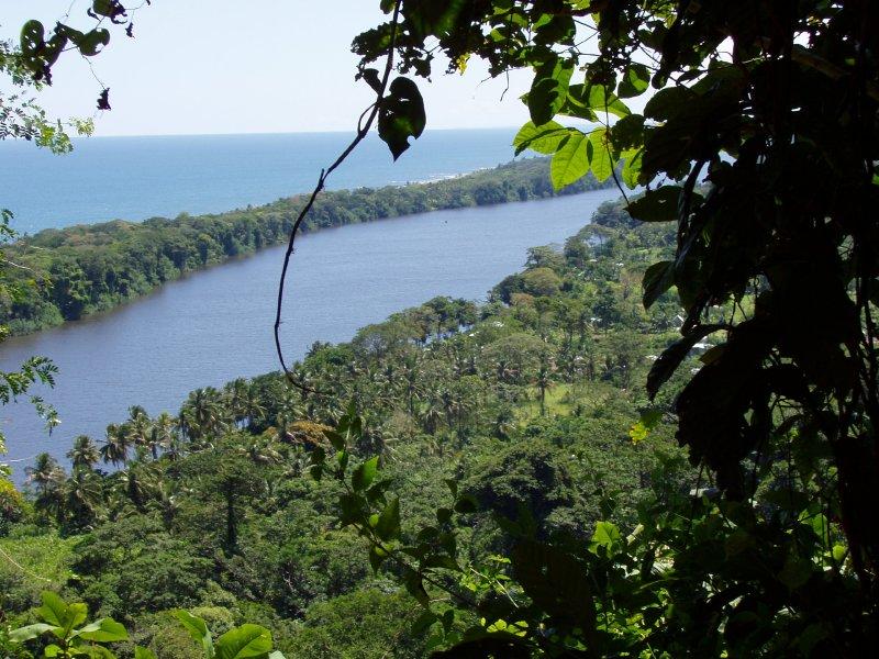Tortuguero lagoon overview
