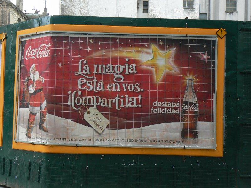 Street advertising