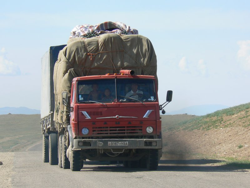Transporting wool