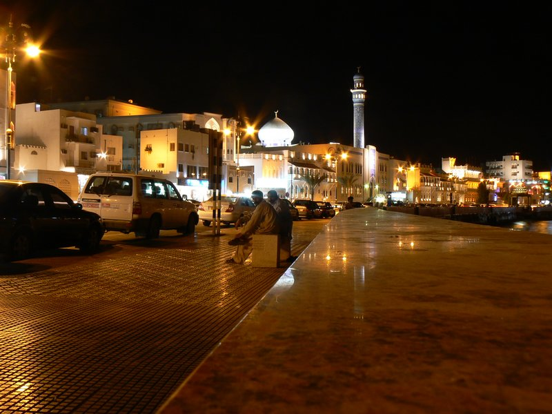 Mutrah at night