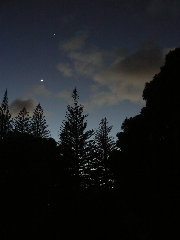 Sunrise at Pitcairn Island