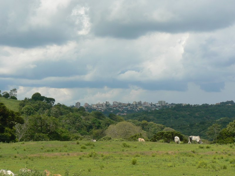 The skyline of Veranópolis