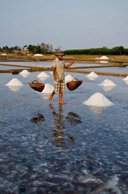 A day on Salt fields in Central Coast Vietnam
