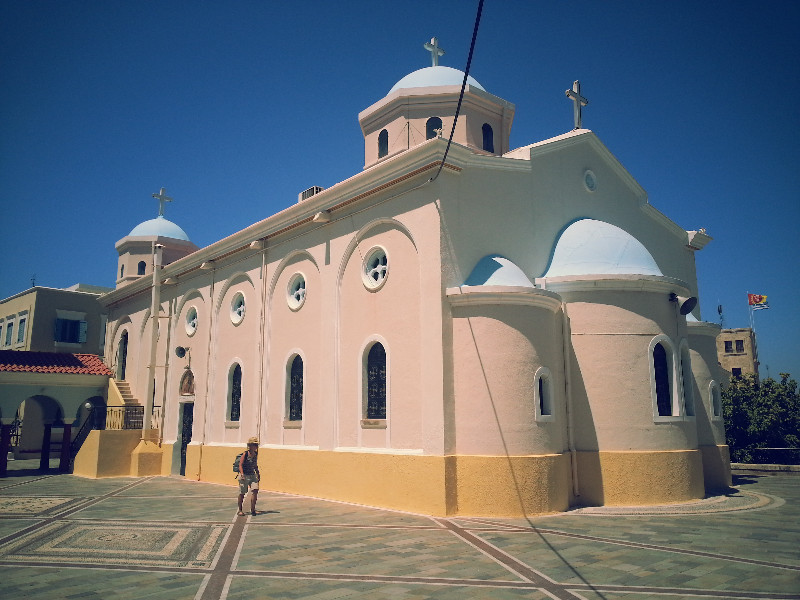 Orthodox church in Kos