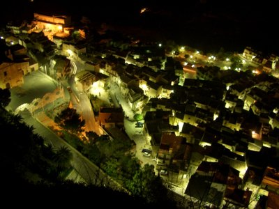 Caltabellotta_Sicily - night