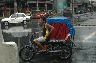 Tricycle in Manila