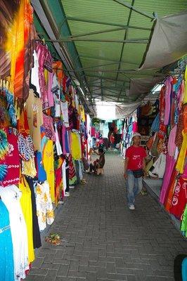 Kuta Market Stalls Bali Indonesia