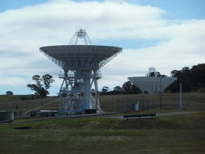 Nasa deep Space Communication Center, Canberra, Australia