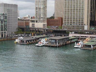 Circular Quay Wharf Sydney Harbour