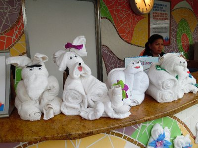 Carnival Spirit Cruise Ship Towel Animals 2