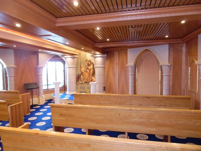 Carnival Spirit Cruise Ship Chapel