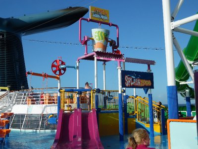 Carnival Spirit Cruise Ship Water Park