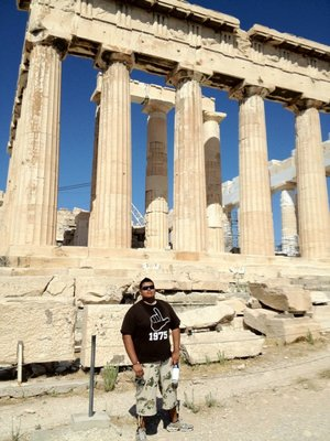 Finally! The picture with the Parthenon