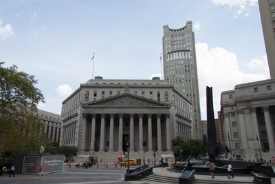 New York's Gebouw van Justitie