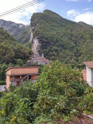 gorgeous mountain cliff view