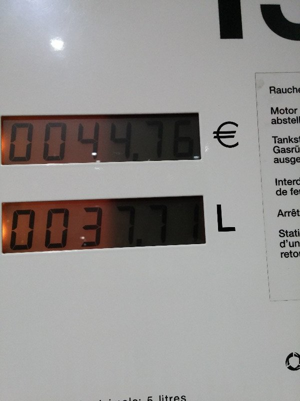 luxembourg fuel price €1.18 / litre