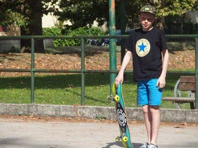 Skating at the park #skateeverydamday