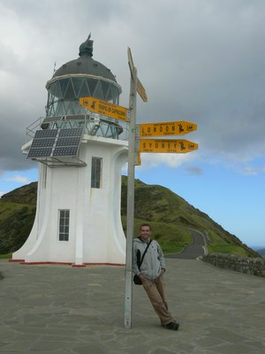 Chillin at Cape Reinga