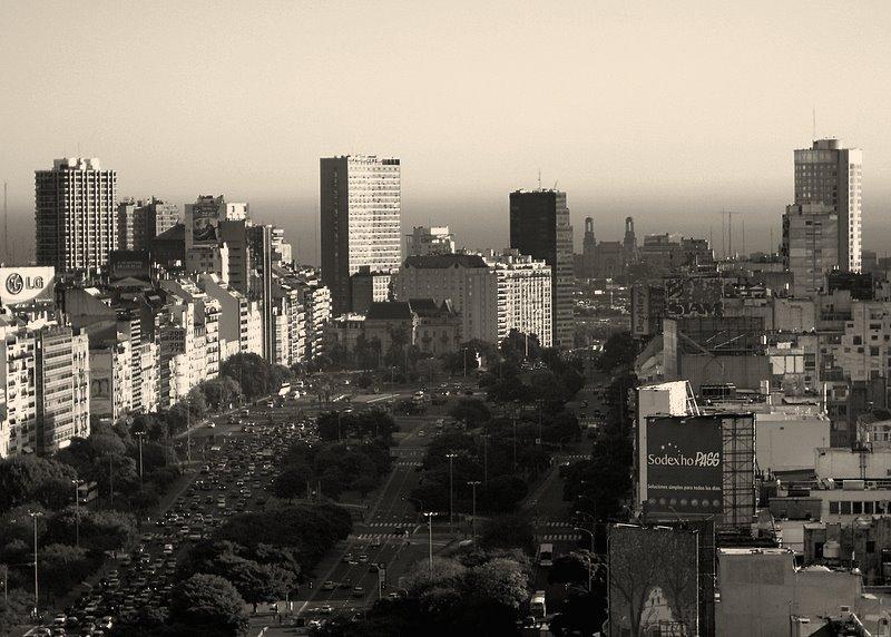 Buenos Aires - Avenida Nueve de Julio