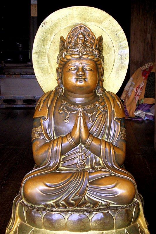 Kyoto - Buddha at Kiyomizudera