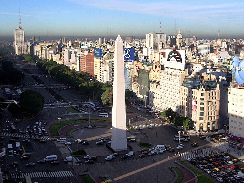 Buenos Aires - The World's widest Avenue