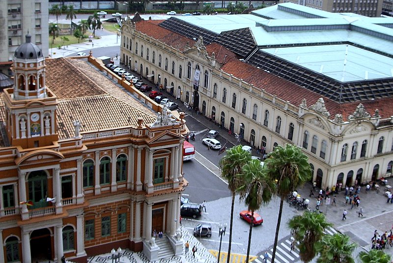 Porto Alegre - City Hall & Central Market