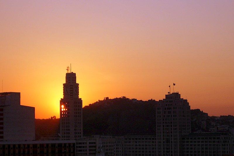 Rio de Janeiro - Sunset in Rio