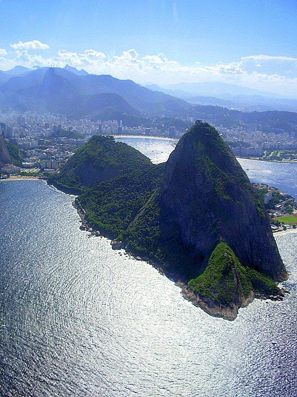 Rio de Janeiro - Flying over Rio