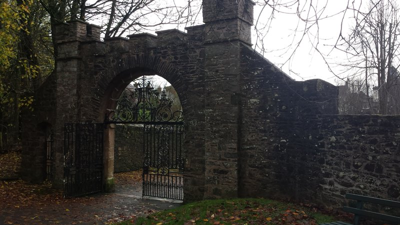 Gate to the Fort