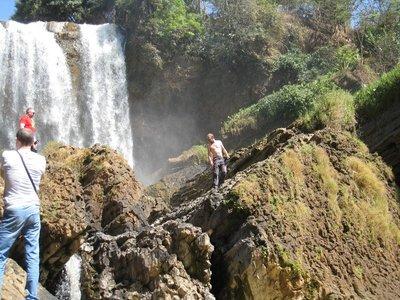 Elephant waterfalls