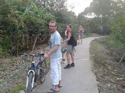 Ballade à vélo sur An Binh