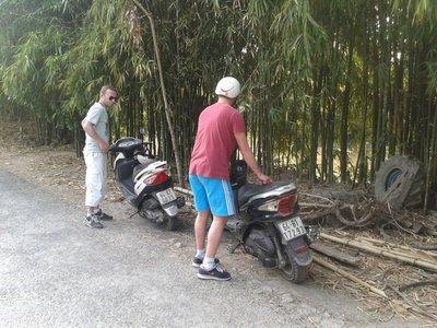Ballade à scooter autour de Vinh Long