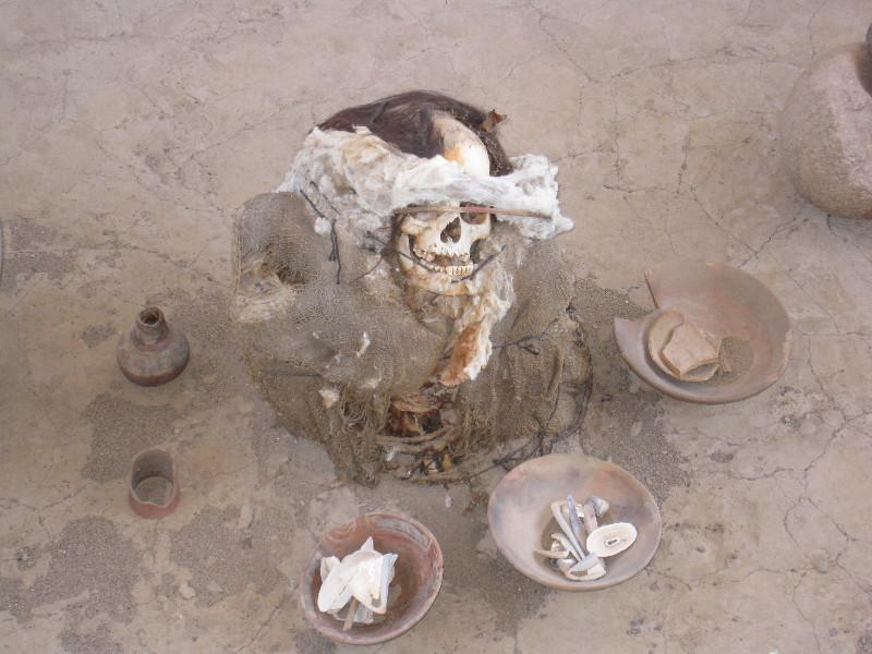 Momies du cimetière de Chauchilla