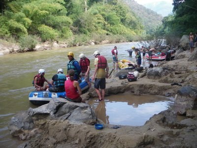 Rafting on the River Pai