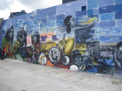 Bogotá, grafíti