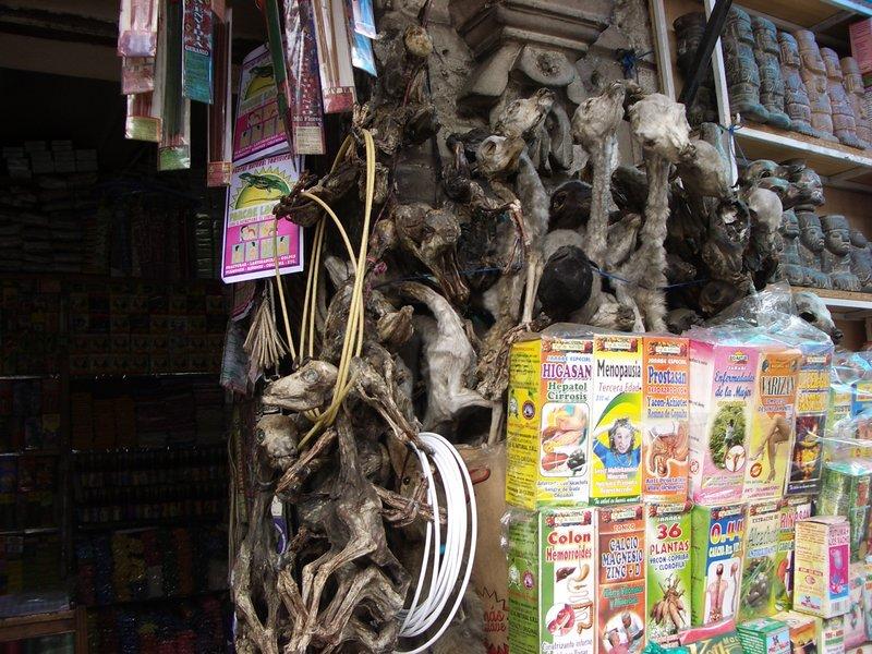 La Paz, Mercado de Hechicería